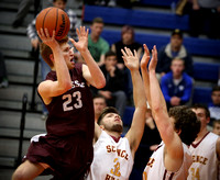 Science Hill vs TN High Boys BB 2-19-16