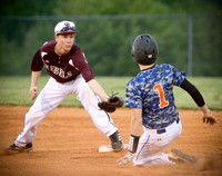 Volunteer vs South Greene Baseball 4-28-15