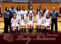 Dobyns Bennett Girls BB Media Shots Nov 12, 2012