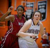 DB vs Morr. West Girls BB (Regionals) 3-2-16