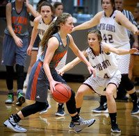 Central @ DB Girls BB 2-13-16