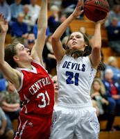 Wise Central @ Gate City Girls BB 1-29-16