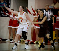 DB @ Boone Girls BB 2-5-16