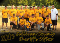 SCSO vs KFD Charity Softball July 3, 2009