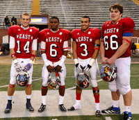 Toyota East-West AllStar Football Dec 8, 2012