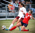 DB vs South Doyle Soccer (Girls) Region 1AAA Semifinals Oct. 21, 2014