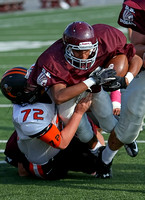 DB vs Eliz. Freshman FB Oct 4, 2012