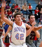 South vs Cherokee Boys BB (SemiFinals) Feb 25, 2012