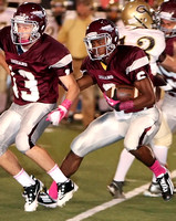 DB vs Crockett FB  (Homecoming) Oct 5, 2012