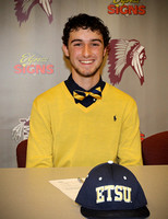 Christian Bailey Signing w/ETSU Nov 20, 2013
