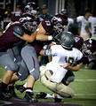 DB vs Crockett FB (Homecoming) Sept. 19, 2014