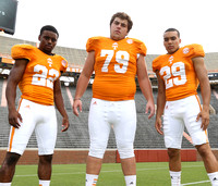 Tennessee FB Media Day Aug. 15, 2013